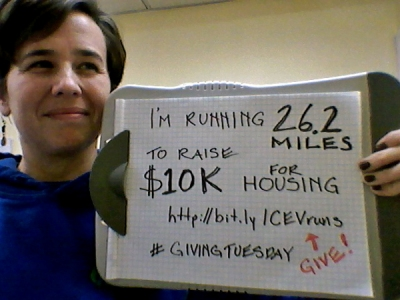 I'm running 26.2 miles to raise $10,000 for housing. Give: http://bit.ly/CEVruns